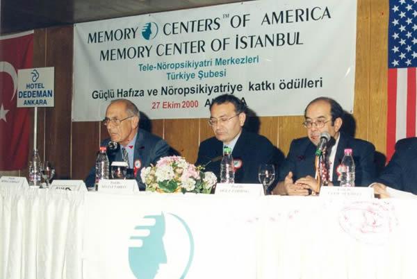 Memory Centers of America tarafından Gerçekleştirilen Ödül Töreni