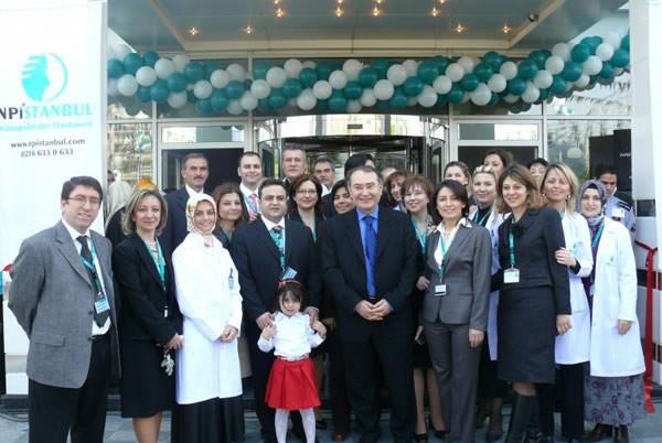 NPİSTANBUL Hastanesinin Açılış Fotoğrafı