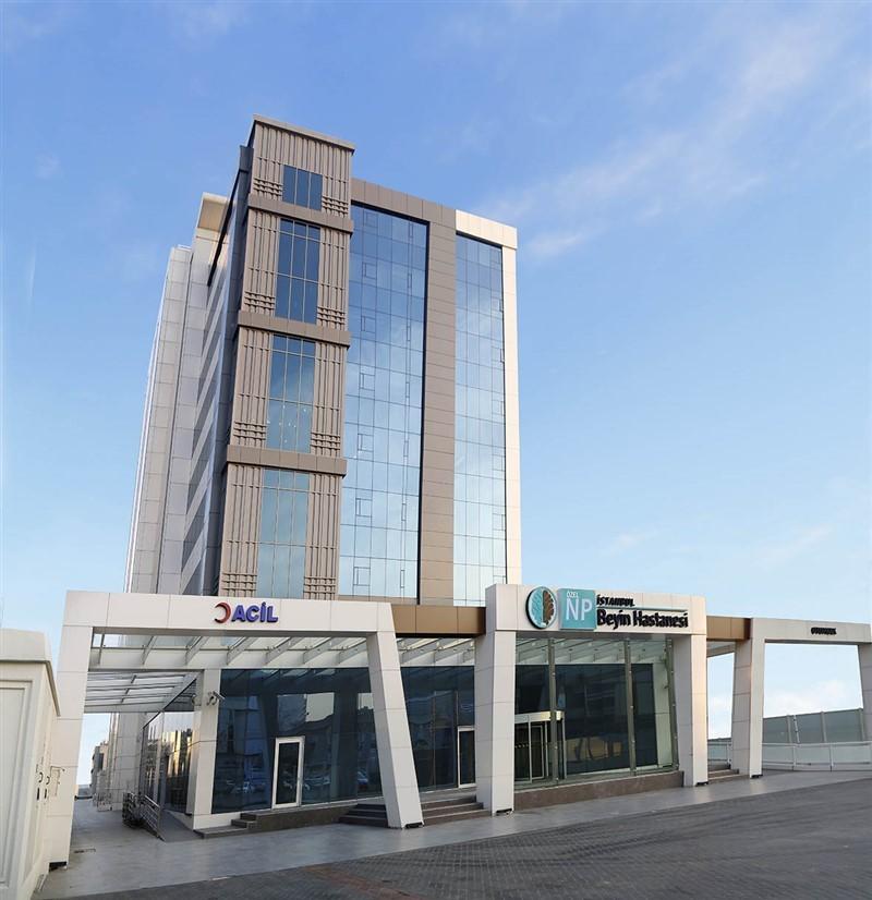 NPİSTANBUL Beyin Hastanesi Cephe Görünüm