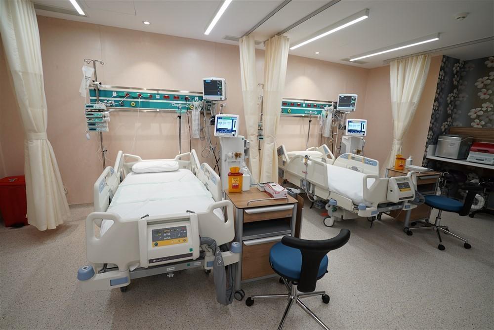 Yoğun Bakım Ünitesi Hasta Yatakları