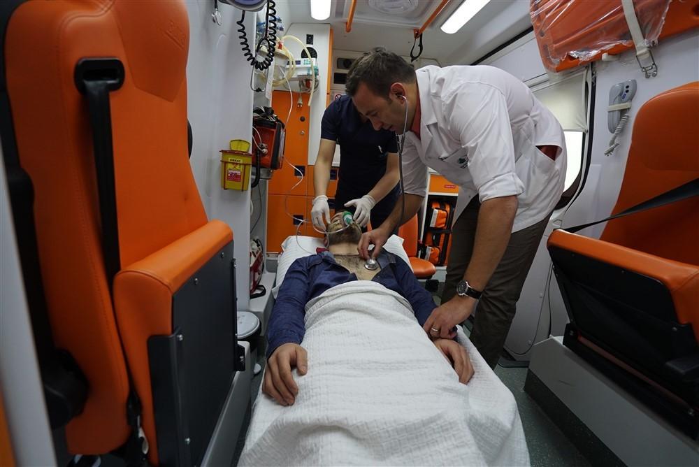 NPİSTANBUL Beyin Hastanesi Acil Ambulans ve İlk Yardım