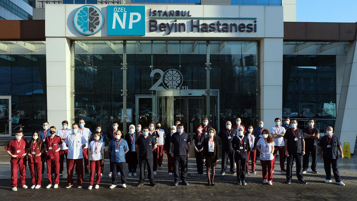 NPİSTANBUL Beyin Hastanesi Hemşirelik Hizmetleri Ekibi