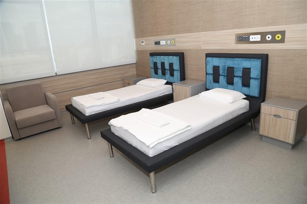 Açık Yatan Hasta Servisi Hasta Odaları