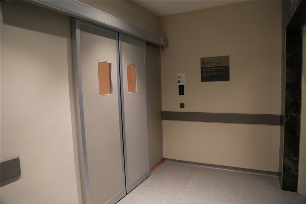 Açık Yatan Hasta Servisi Güvenlik Girişi