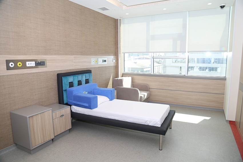 Turuncu Yatan Hasta Servisi Özel Hasta Odası