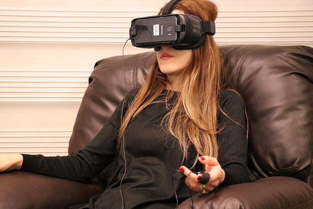 Virtual Reality-Biofeedback