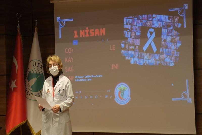 COVİD-19 mücadelesinin kahramanları NPİSTANBUL Beyin Hastanesi'nde anıldı