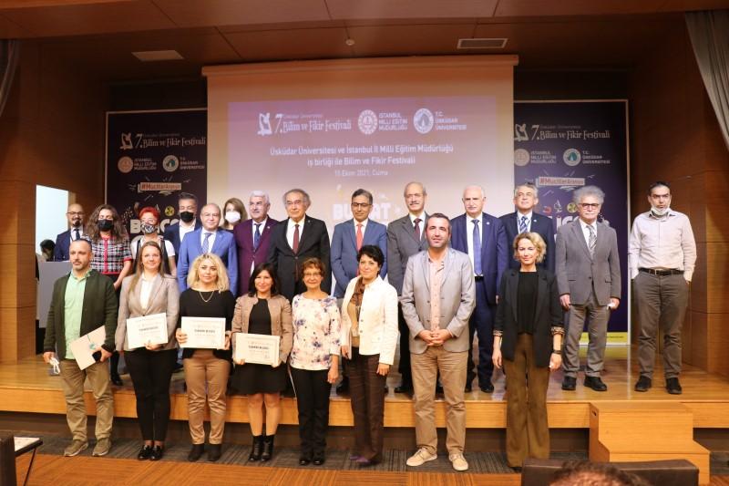 7. Bilim ve Fikir Festivali'nde başarılı projeler ödüllendirildi