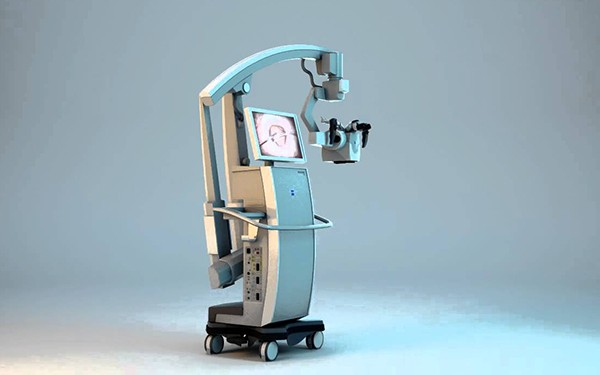 Surgical Microscope with Tumor Fluorescent Staining