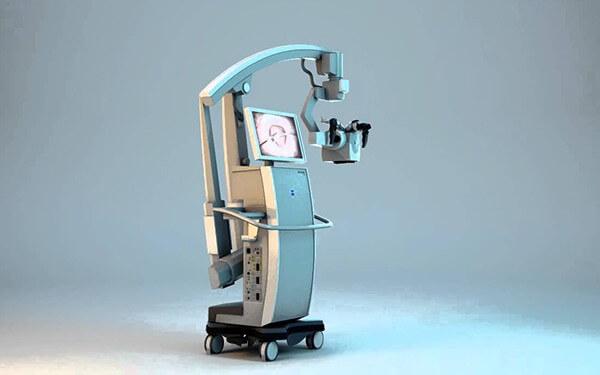 Tümör Florasan Boyama Özellikli Cerrahi Mikroskop